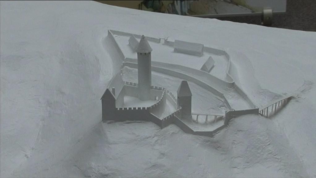 Modely představují hrady známé i neznámé