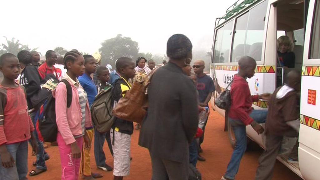 Kamerunské děti