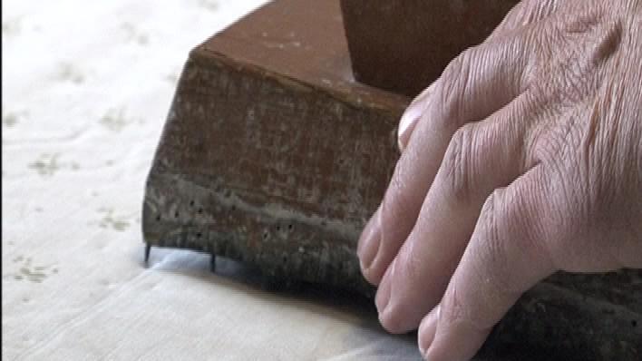 Tiskařská forma z 19. století je pořád funkční