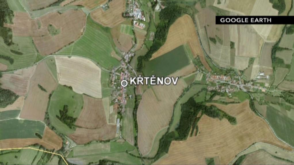 Křtěnov leží v zemědělské oblasti