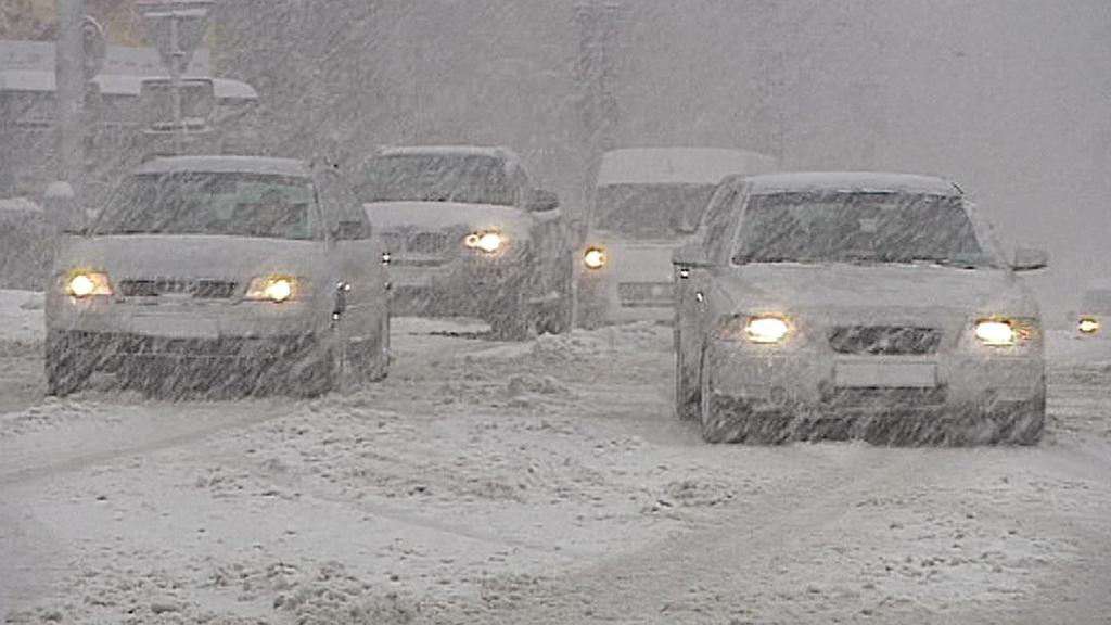 Slovenskou dopravu ochromilo sněžení