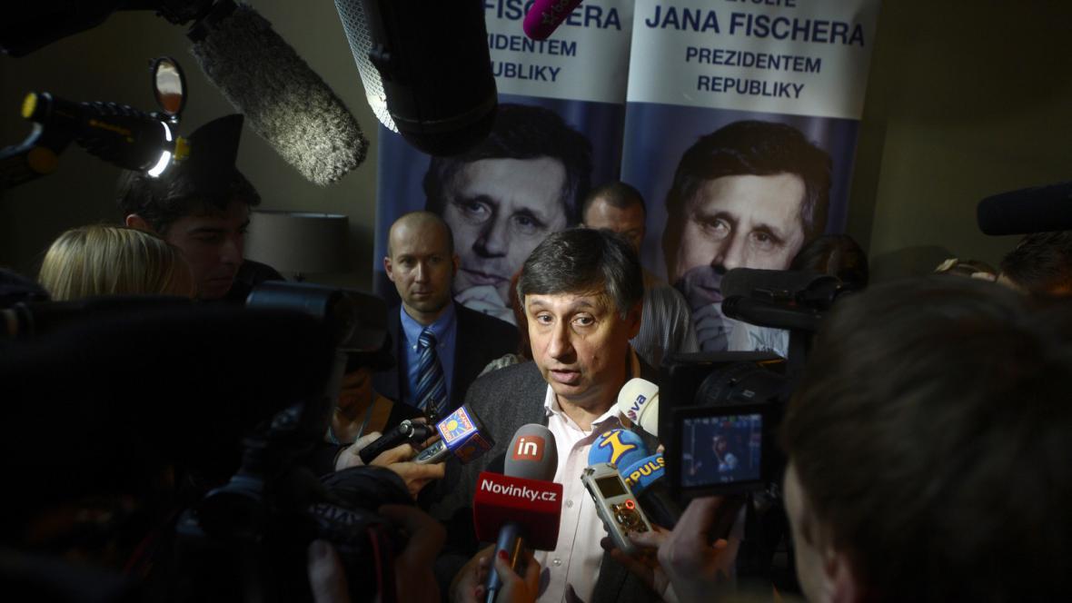 Volební štáb Jana Fischera