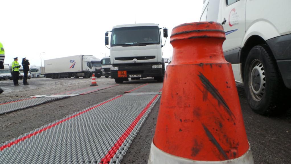 Dopravní akce se zaměřila na kamionovou přepravu