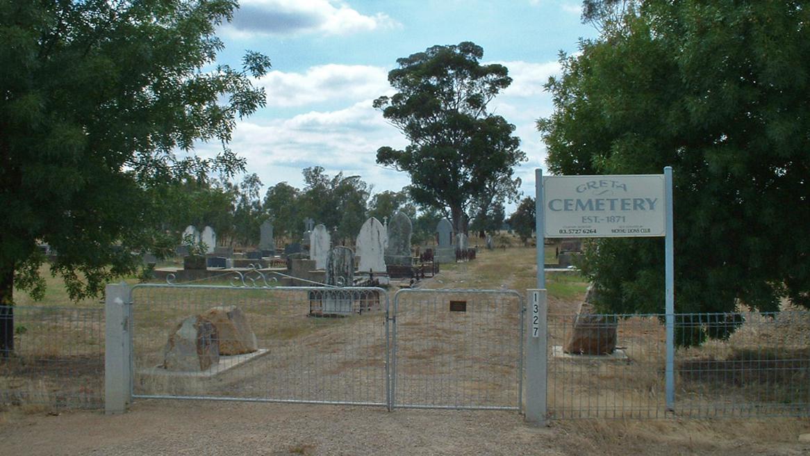 Hřbitov v Gretě