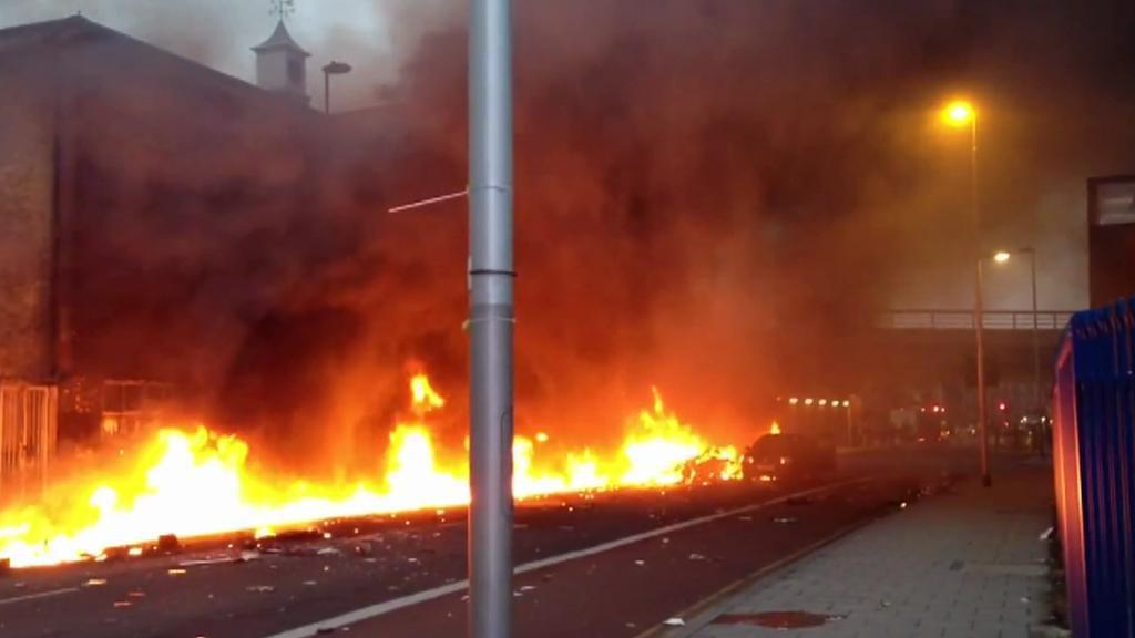 Nehoda vrtulníku v Londýně