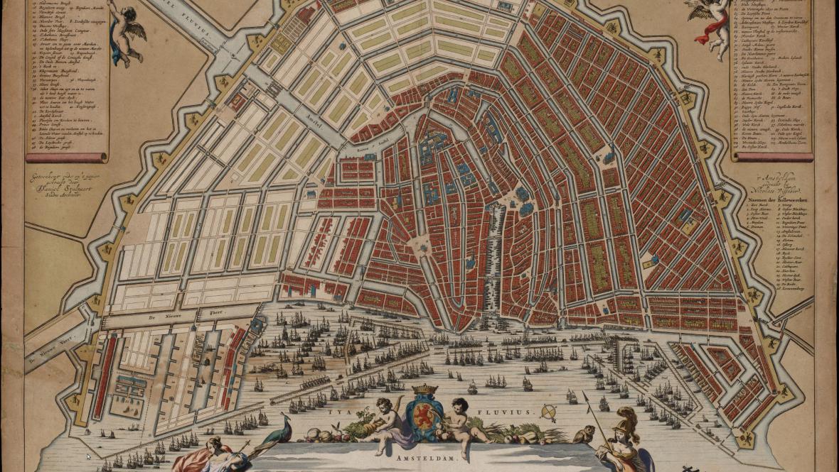 Amsterodam v 17. století