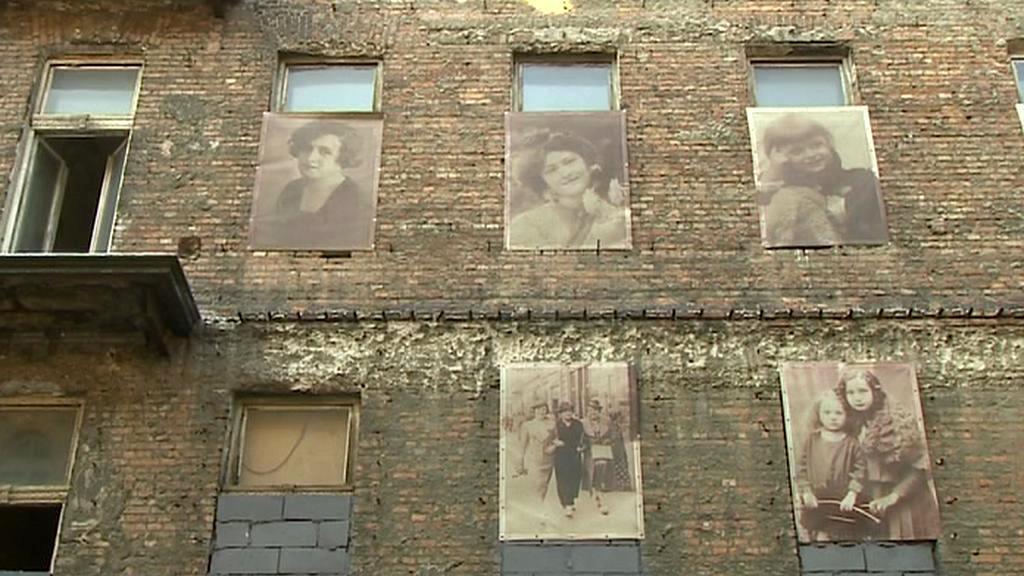 Výstava ve varšavském ghettu