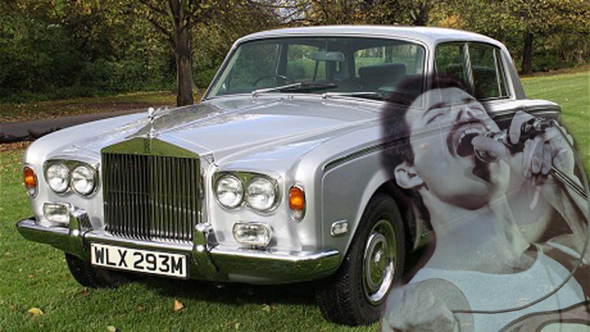 Mercuryho Rolls-Royce se vydražil za 74 600 liber