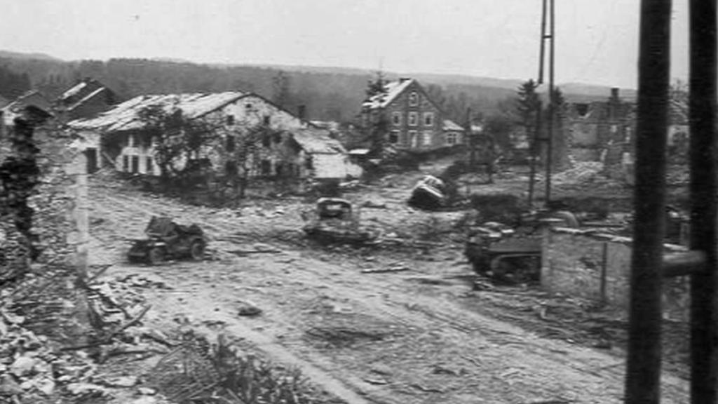Následky války v Ardenách