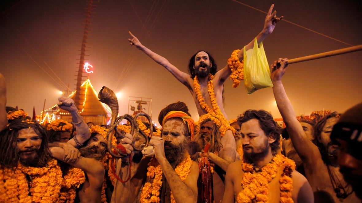 Indický svátek Kumbh mélá