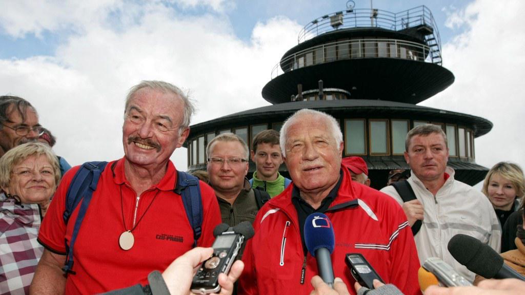 Přemysl Sobotka a Václav Klaus