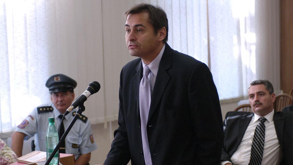 Jiří Berka před soudem