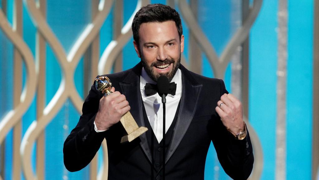 Ben Affleck získal za film Argo Zlatý glóbus