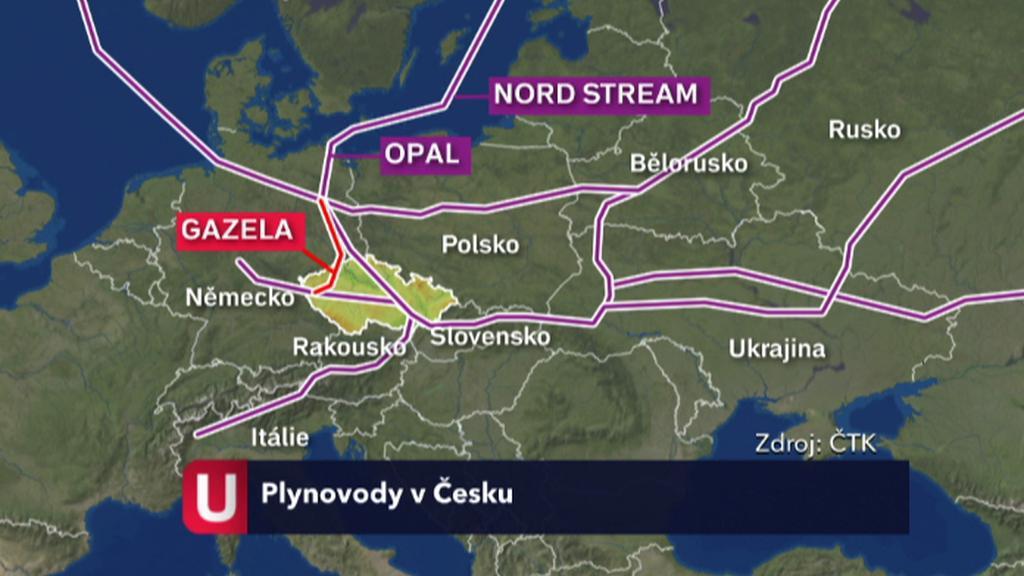 Plynovody v Česku