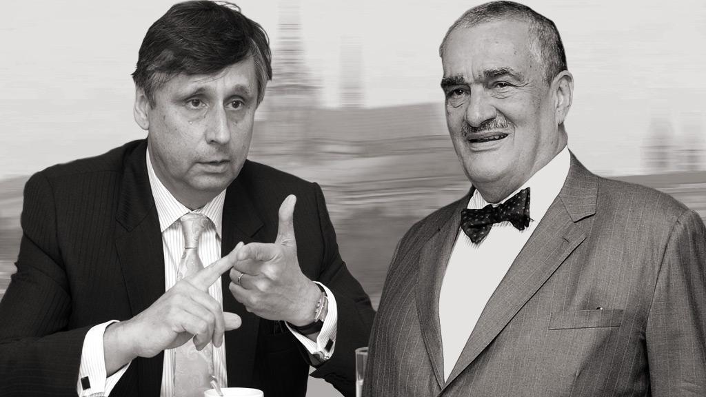 Jan Fischer a Karel Schwarzenberg