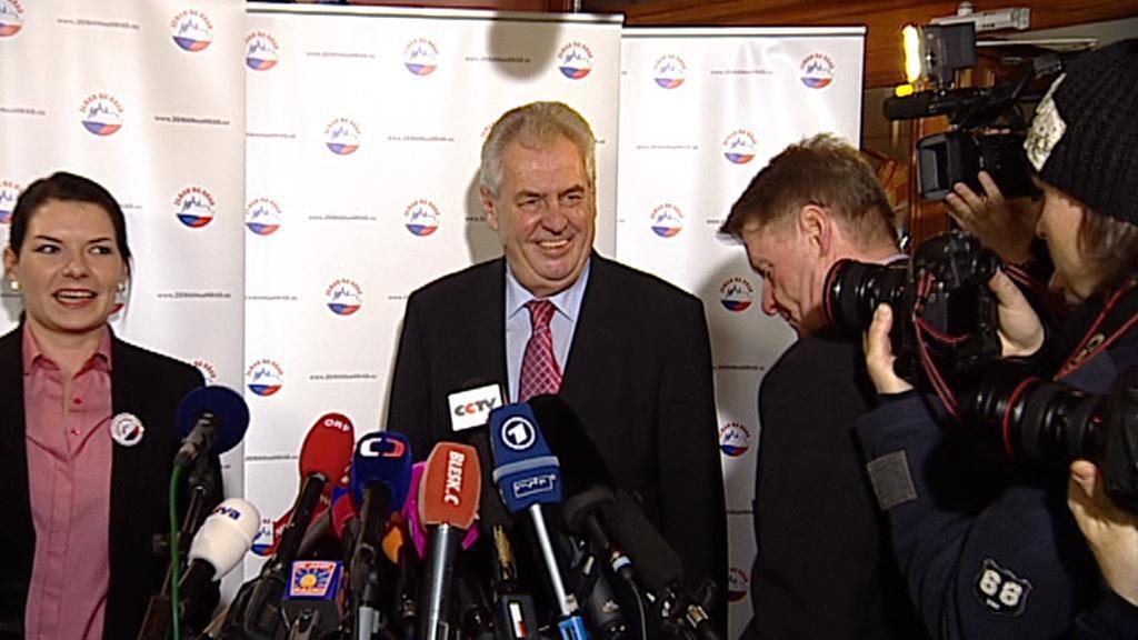 Brífink Miloše Zemana