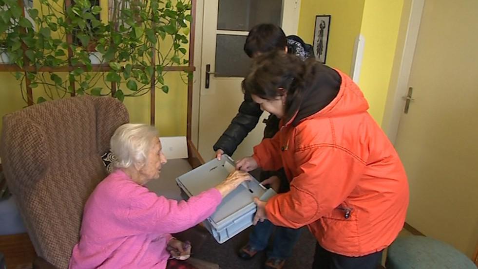 Letos poprvé za Vlastimilou Češkovou přišli komisaři až domů