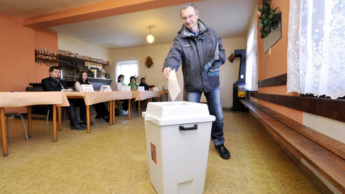 Prezidentské volby v hospodě