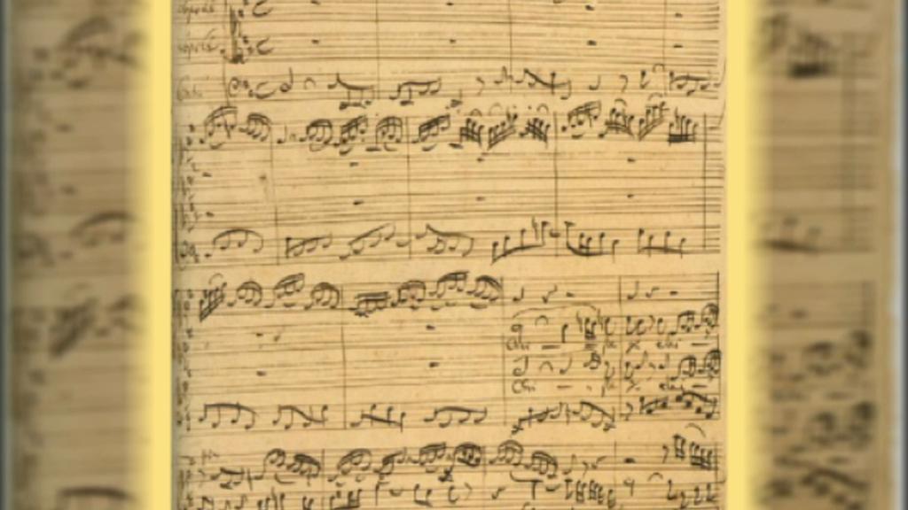 J. S. Bach / partitura Mše h-moll