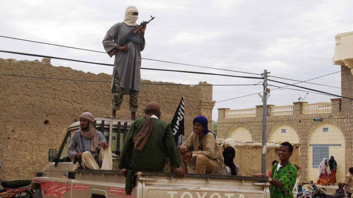 Maliští islamisté ze skupiny Ansar Dine