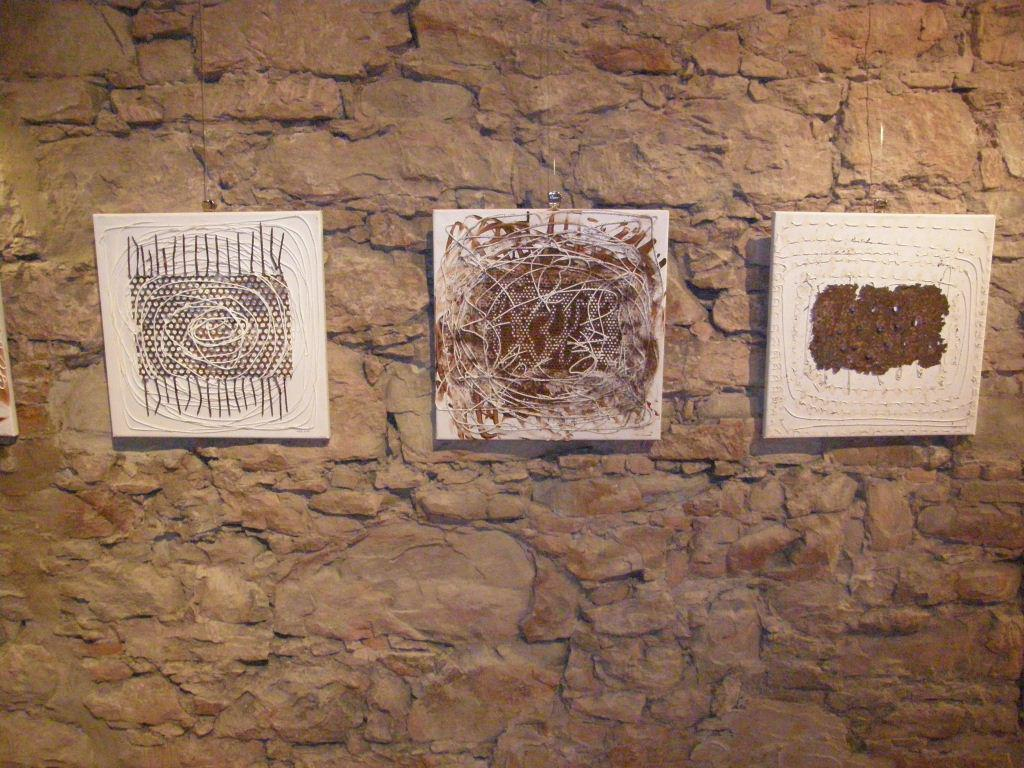 Z výstavy Adriany Rohde Kabele