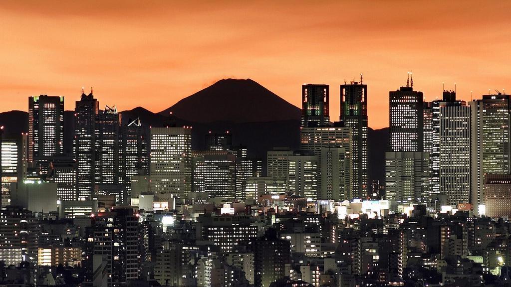 Sopka Fudži je v bezprostřední blízkosti Tokia