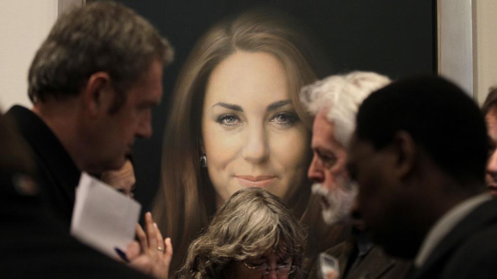 Představení portrétu vévodkyně Catherine