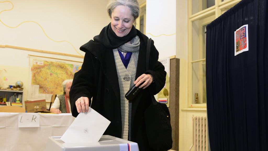 Prezidentská kandidátka Táňa Fischerová