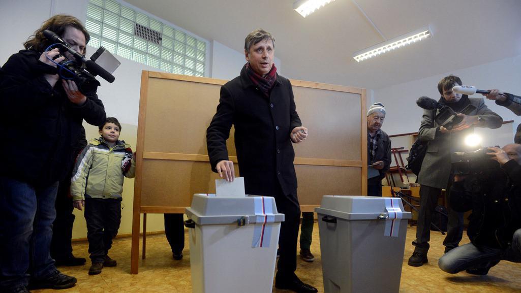 Prezidentský kandidát Jan Fischer