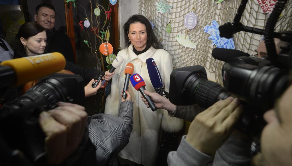 Prezidentská kandidátka Jana Bobošíková