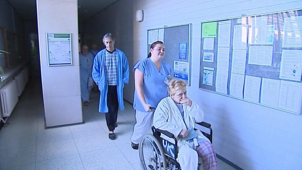 Někteří pacienti šli volit v doprovodu personálu