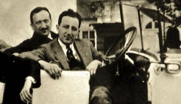 Harry Jelínek na meziválečné fotografii