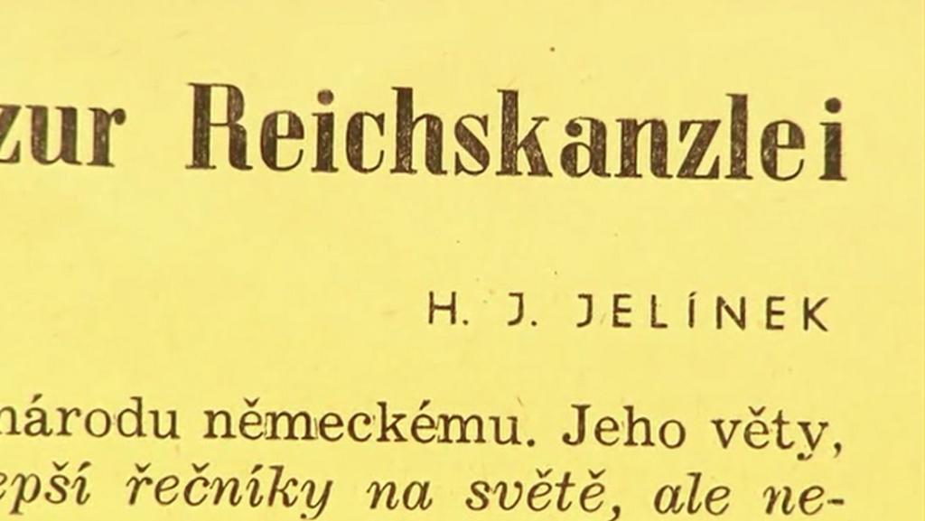 Harry Jelínek našel při okupaci uplatnění jako vydavatel