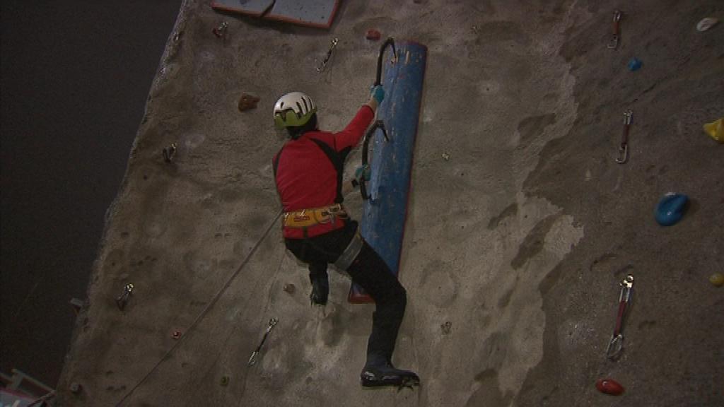 Petr Hartmann je reprezentantem lezeckého oddílu v Poličce