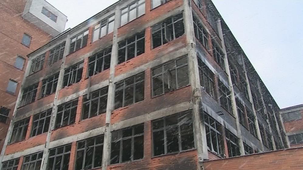 Hasiči ukončili zásah v areálu bývalého Svitu