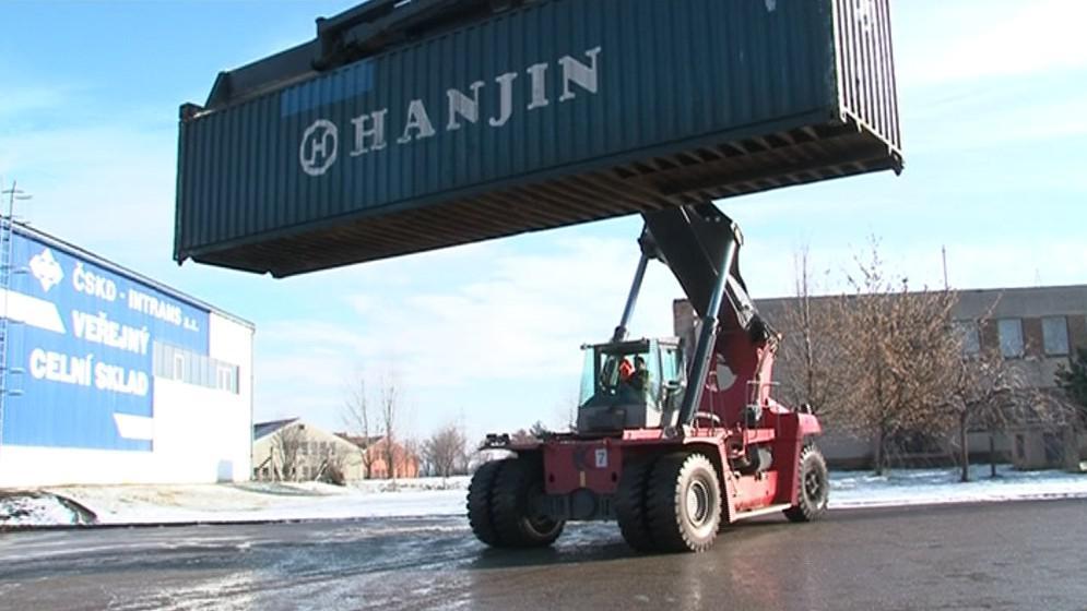Kontejnery cestují do Brna převážně z Německa