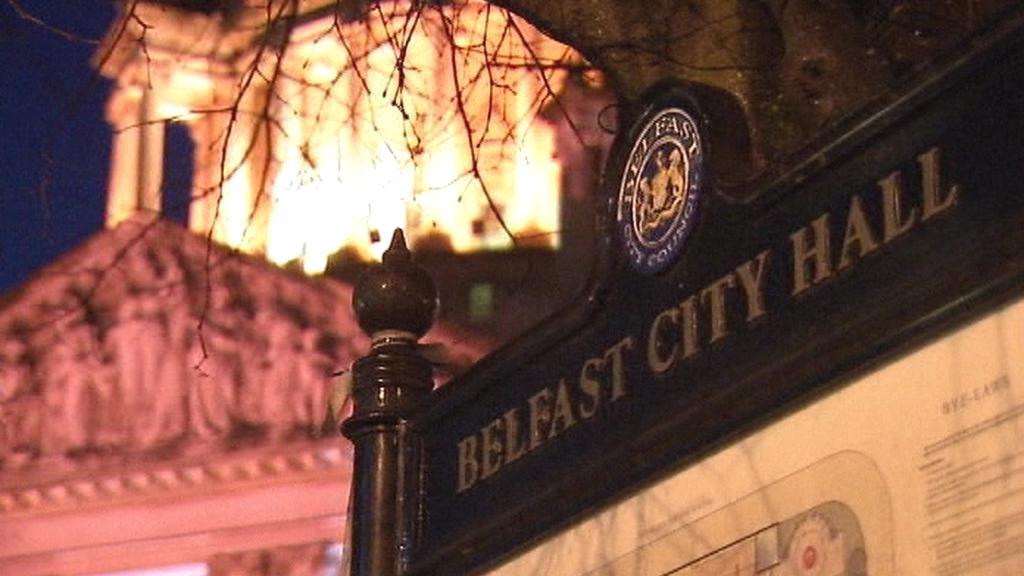 Radnice v Belfastu