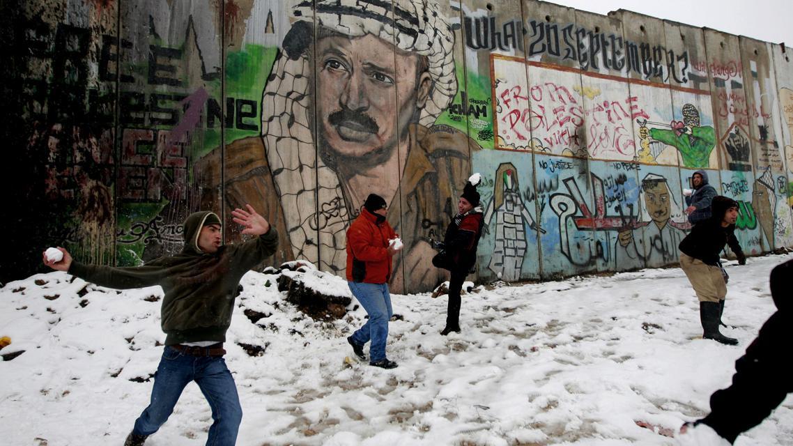 Koulovačka v Palestině