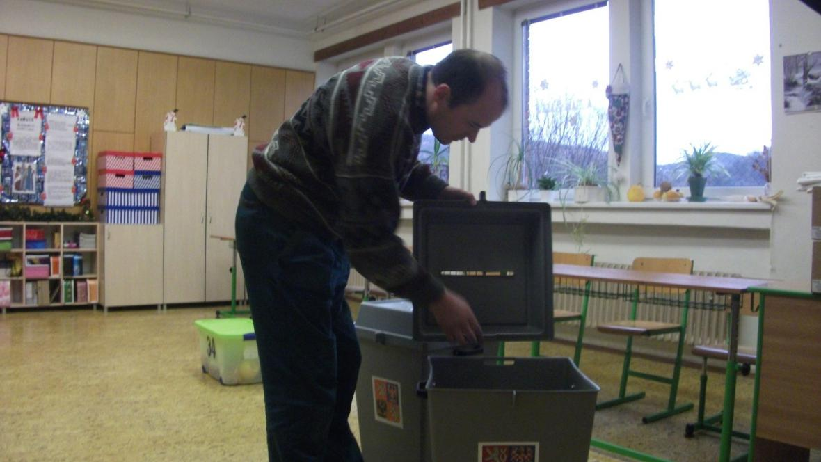 Přípravy volebních místností