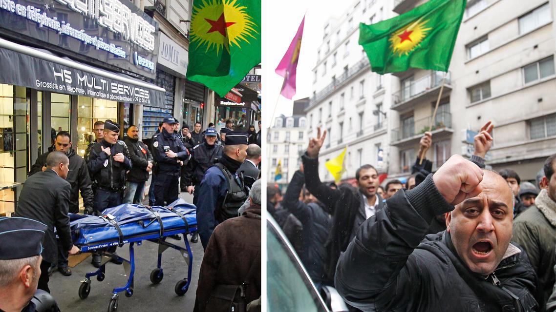 V Paříži zavraždili tři Kurdky