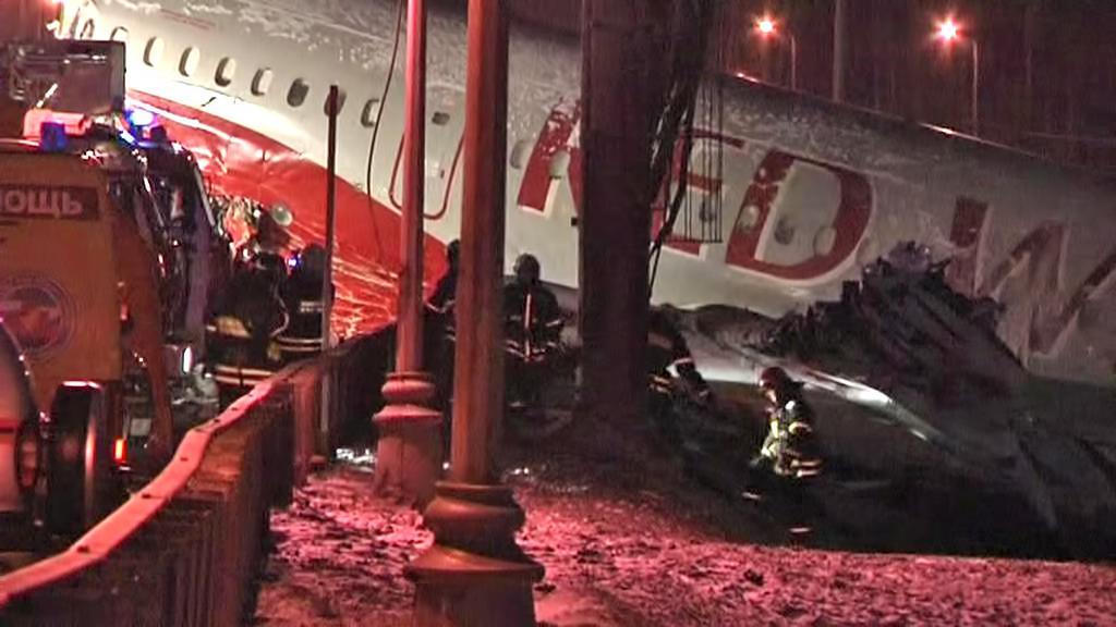 Havárie tupolevu společnosti Red Wings