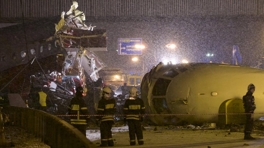 Havárie letadla na moskevském Vnukovu