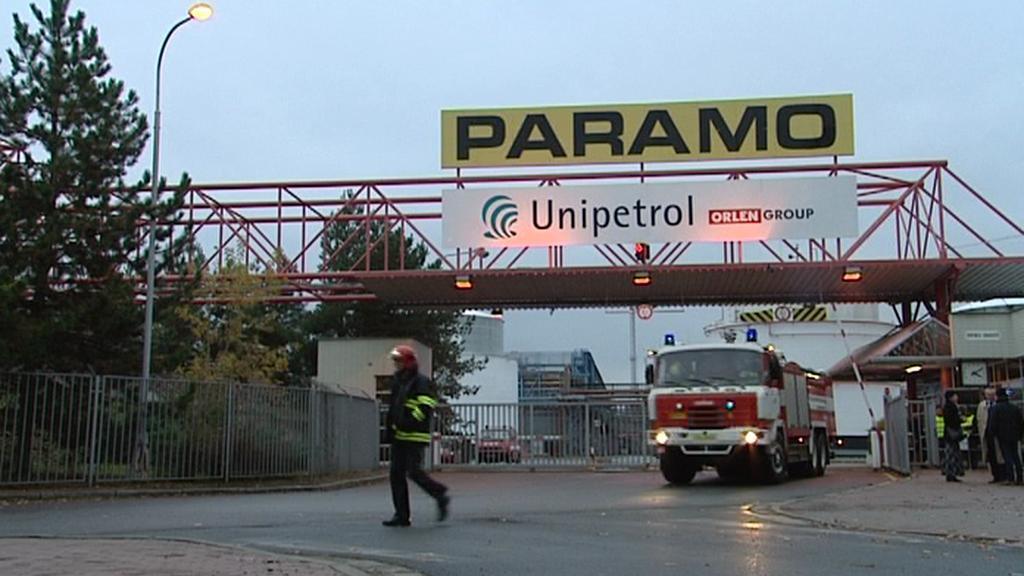 Cvičná evakuace Parama