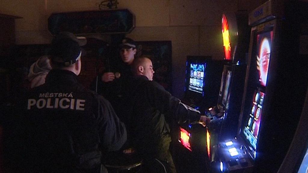 Policejní zátah proti gamblerům