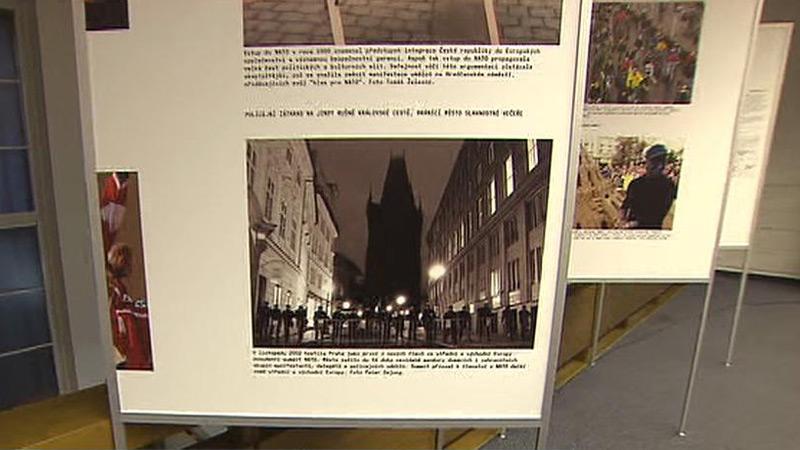 Výstava 20 let samostatnosti Česka a Slovenska