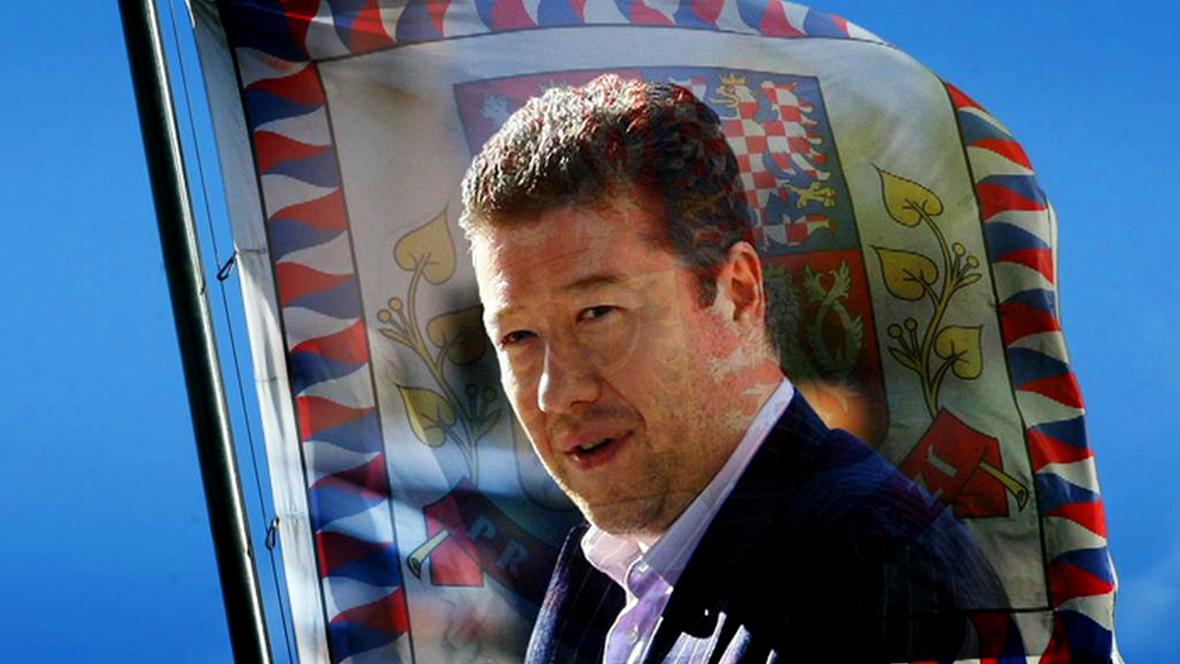 Kandidát na prezidenta Tomio Okamura