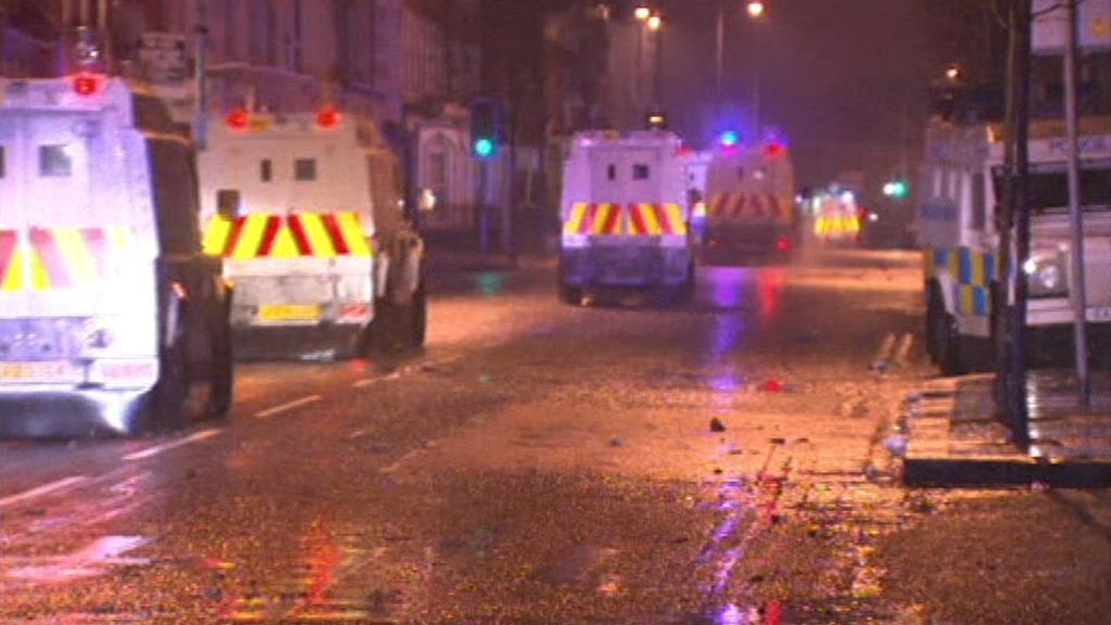 Nepokoje v Belfastu