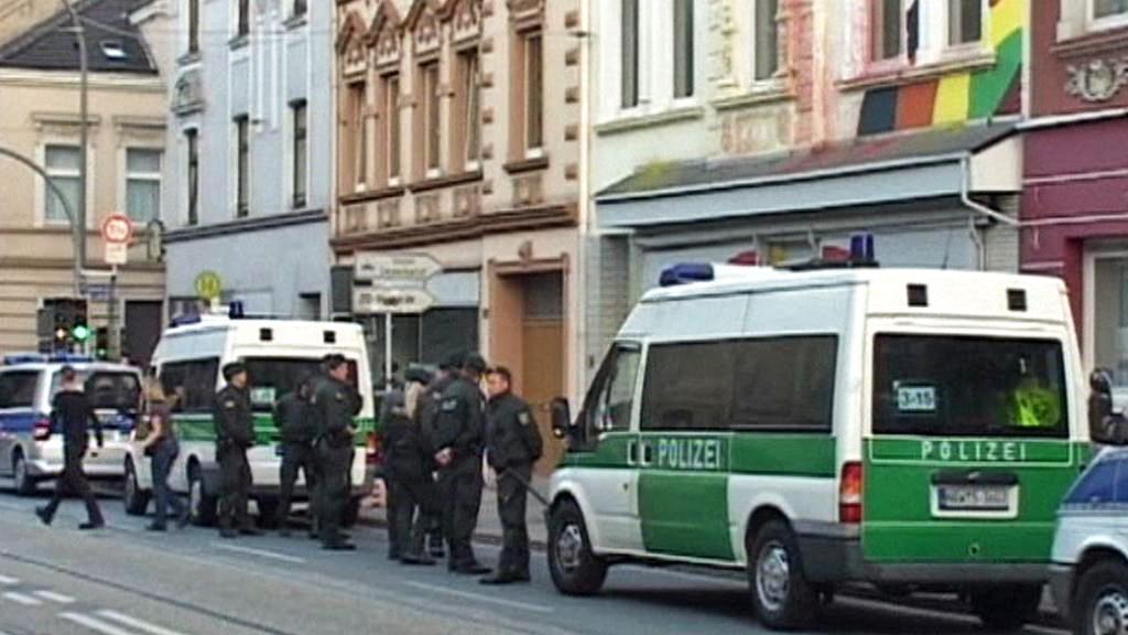 Zátah policie na neonacisty v Severním Porýní-Vestfálsku