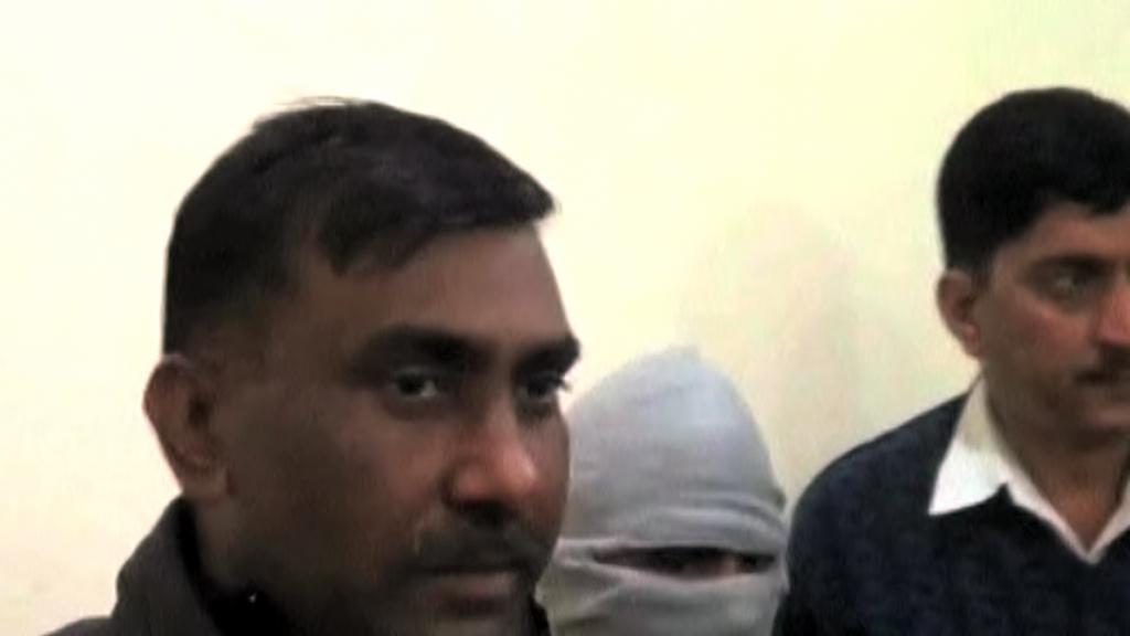 Indičtí násilníci před soudem