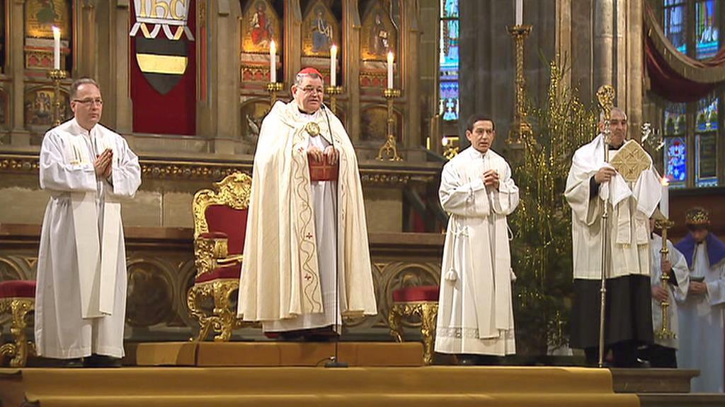 Dominik Duka požehnal koledníkům